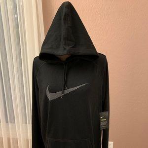NWT Nike Ladies Black hooded Sweatshirt Sz - XL